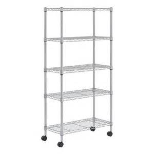 commercial wire shelving sandusky mws301460 5 shelf wire commercial shelving unit