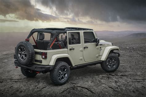 Jeep Wrsngler 2017 Jeep Wrangler Rubicon Recon Looks Trail Ready In