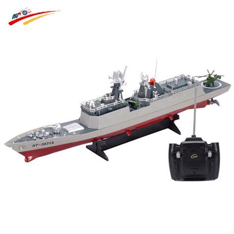 rc boat 1 275 radio remote control battleship war ship - Rc Boats War