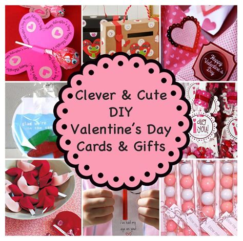 Valentine Gifts Cards - clever and cute diy valentine s day cards gifts