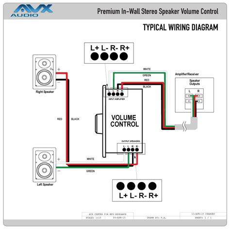 ceiling speaker volume wiring diagram free