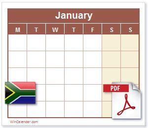za calendar  printable calendar