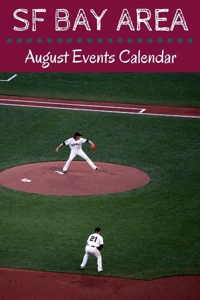 Bay Area Events Calendar Sf Bay Area Events In August 2018 Calendar Things To Do