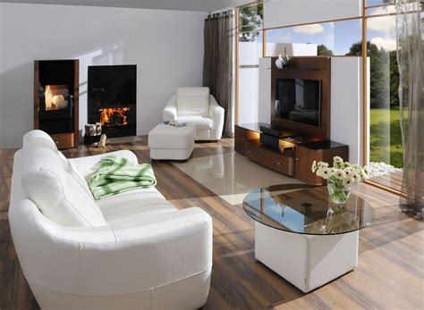 modern living room furniture white decosee