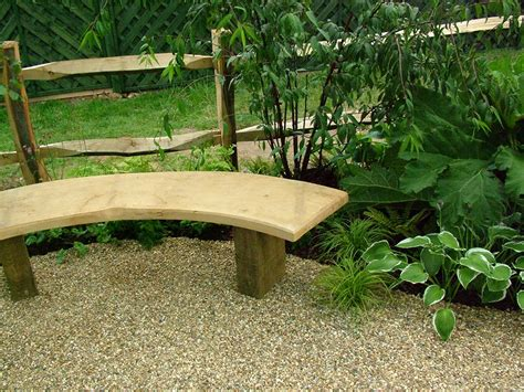 timber garden benches malvern 19m curved teak garden bench curved benches