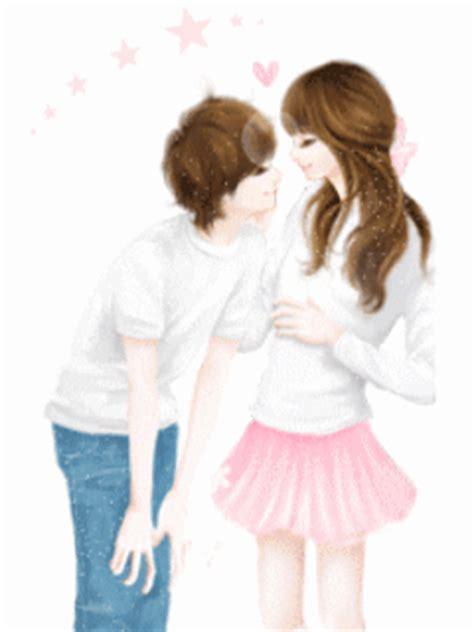 wallpaper gif korea cute korean anime couple www pixshark com images