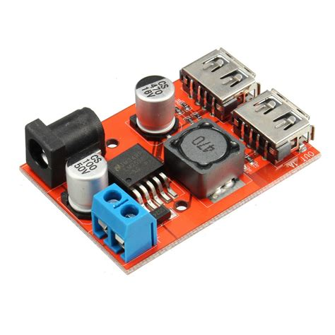 Regulator Bor dc dc 9v 12v 24v 36v to 5v dual usb buck module vehicle