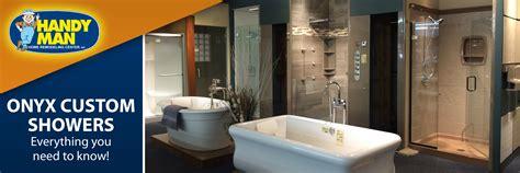 onyx shower doors handy onyx custom showers durable efficient