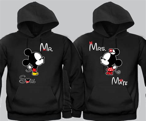 Matching Two Tone T Shirt hoodies for couples trendy clothes