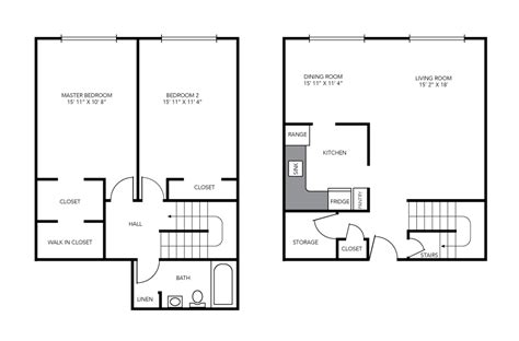 maisonette floor plans two bedroom maisonette birchwood village rental
