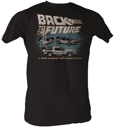 Tees Kaos T Shirt Future back to the future t shirt cars coal shirt