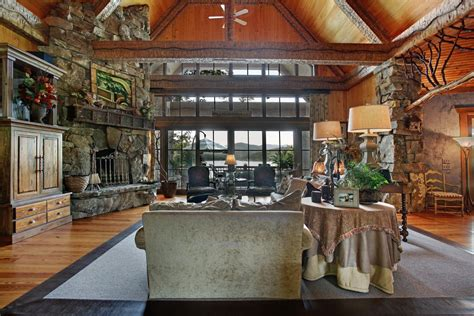 home design story rustic stove stunning spaces charming rustic lakefront home the vht