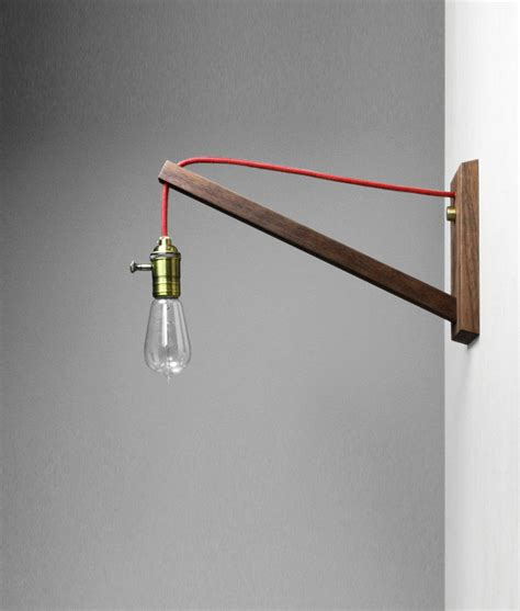 simple wall l solution decorative bulb cord