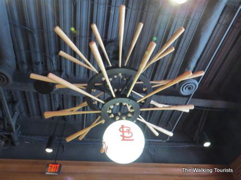 baseball themed ceiling fan cardinals nation museum a must see in st louis for