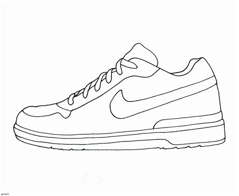 shoe drawing template shoe template coloring sheet printable faalconn