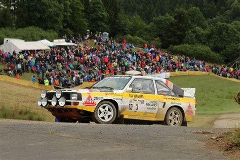 Audi Eifel by Oldtimer News Adac Eifel Rallye Festival 21 Bis 23