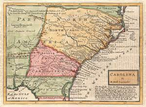 colonial map of frederick2015 the carolina colonies 701