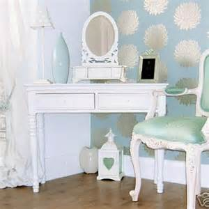 shabby chic table mirror belgravia chic dressing table and mirror white