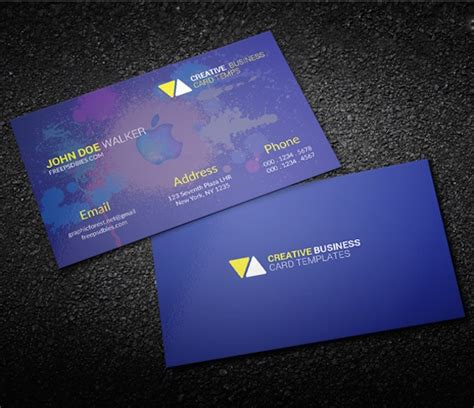 personal business card templates psd 40 free business card psd templates devzum