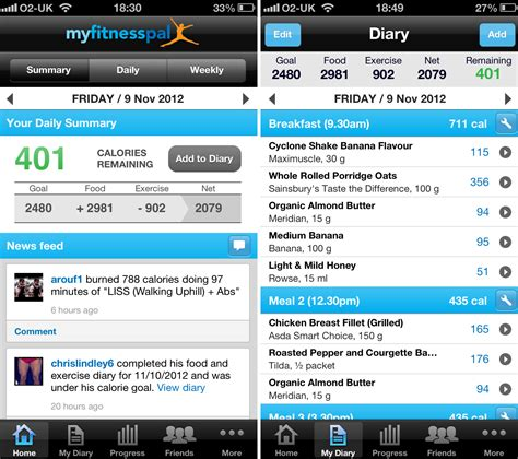my fitness pal app for android my fitness pal fitocracy my weightloss journey