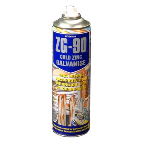 spray painting zinc coated steel zg 90 cold zinc galvanising spray paint