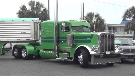 truck shows custom peterbilt i 75 chrome shop truck