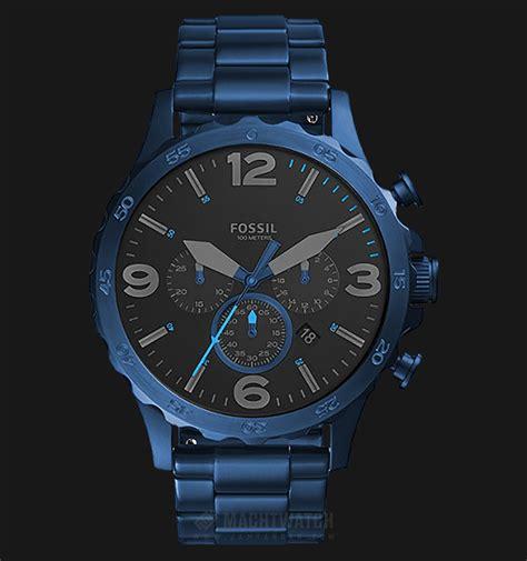 Fossil Jr1504 Nate Chronograph fossil jr1530 nate chronograph black blue