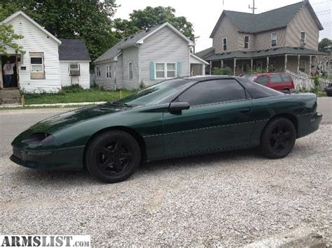 96 z28 camaro for sale armslist for sale trade 96 camaro rs t tops