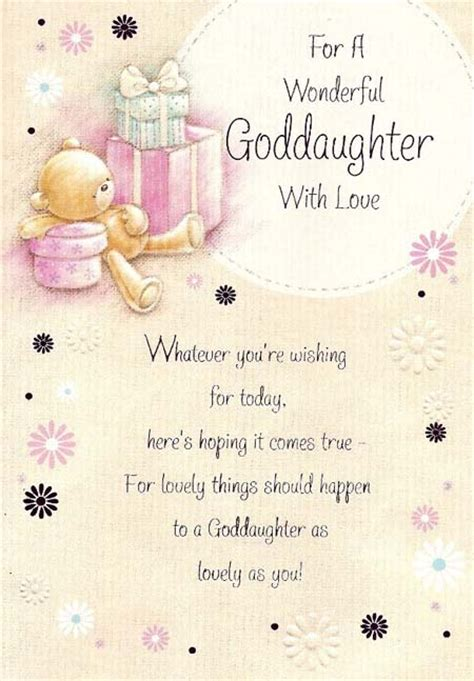 Happy Birthday Wishes For A Goddaughter Happy Birthday Goddaughter Quotes Quotesgram
