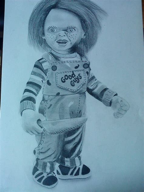 my chucky drawings images
