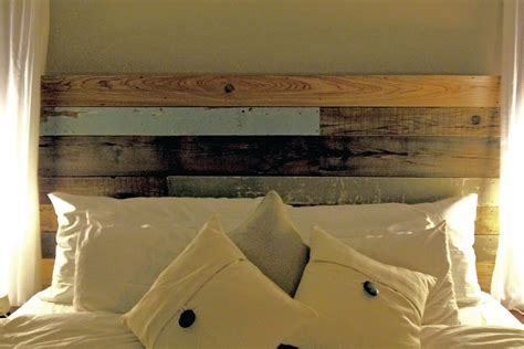 Reclaimed Wood Headboard Items Similar To Reclaimed Wood Headboard On Etsy