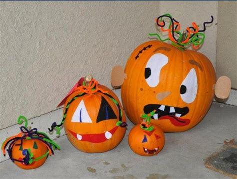 decorating pumpkins without carving miss perez