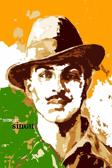 bhagat singh paper print personalities posters  india