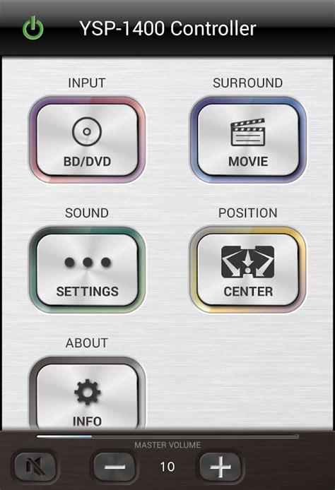 home theater controller aplicaciones de android en