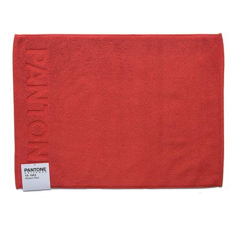 tappeti in cotone bassetti tappetino bagno bassetti pantone in spugna di cotone 50x70