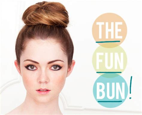 hair into small buns once dry remove buns and finger brush your hair the ballerina bun inspiration tips and diy tutorials