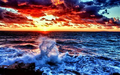 colorful ocean wallpaper colorful ocean waves desktop background wallpaper