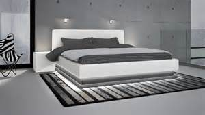 lits en cuir design mobilier cuir
