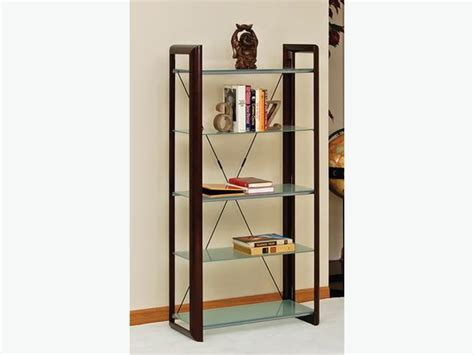 Used Furniture Kitchener Waterloo by Shelving Wood Amp Metal Frame With Tempered Glass Shelves