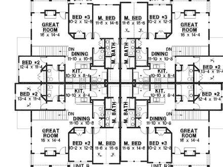 4 unit multi family house plans modular multi family house plans multi family house floor