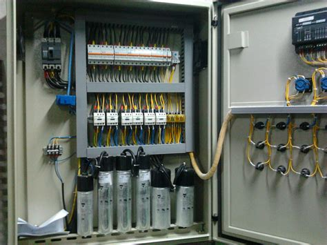 Panel Capacitor Bank Etnik Sugitama Engineering Panel Capacitor Bank