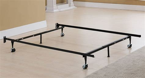 Bed Frame Rollers Xl Metal Bed Frame With Rug Rollers From Sears