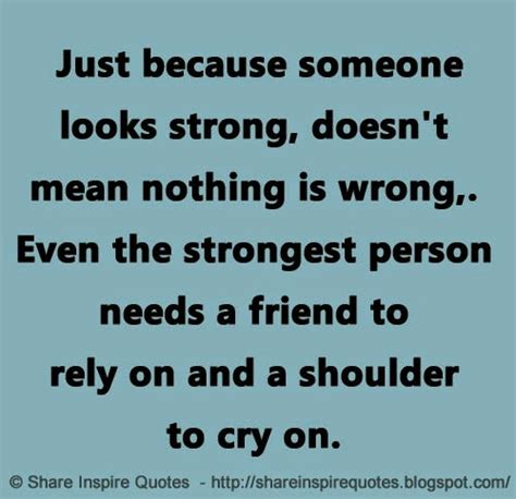 by the looks of the pictures it doesnt seems as if they just because someone looks strong doesn t mean nothing is