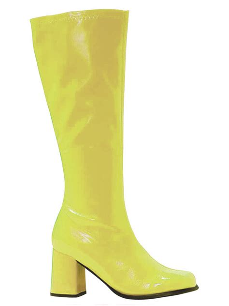 yellow boots shoes fancy dress