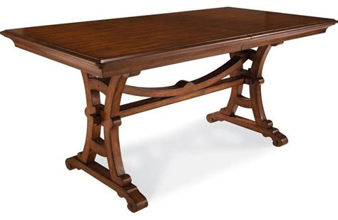 Traditional Kitchen Tables A R T Furniture Margaux Counter Height Trestle Table Traditional Dining Tables By