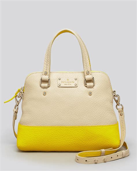 Tas Kate Spade New York Grove Court Maise Satchel 412 Semi Platinum kate spade new york satchel grove court maise bloomingdale s