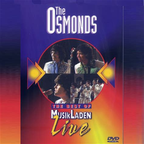 The Osmonds Horses Dvd bob62 the osmonds the best of musikladen live 1972