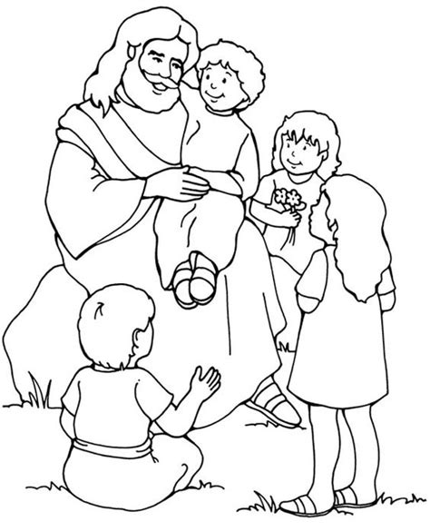 jesus loves me coloring page for preschoolers jesus loves me jesus love me and the other children too