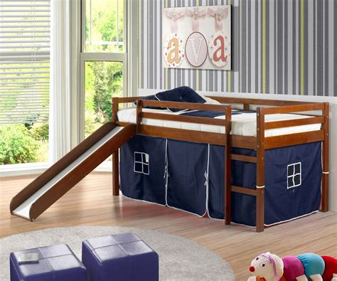 kids beds with slides awesome and cool loft beds with slides for kids atzine com