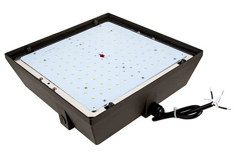 power and light parking led canopy light and parking garage light 100w 4000k